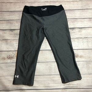 Under Armour Heat Gear Fitted Capris  Size S